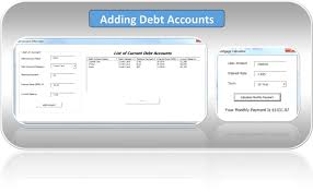 Online Debt Reduction Calculator Debt Snowball Calculator Excel Spreadsheet Debt Free To Early