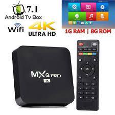 Tv Box Smart 4k Pro Android 10.1 4gb / 8gb Ram 128gb De Mem Ria Wifi Mxq  Pro
