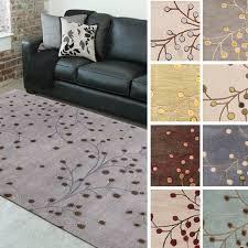 best indoor area rugs unique hand tufted sakura branch fl wool area rug 9 x 12