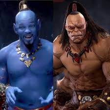 Heard Goro got himself a sick part on that new Aladdin movie : MortalKombat