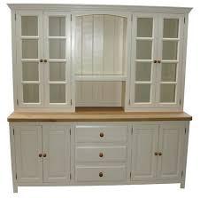 Small Picture Freestanding Kitchen Dressers Larder Units Oak Kitchen