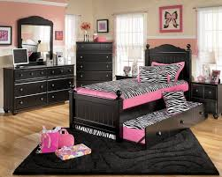 bedroom furniture black and white. Black Furniture Bedroom Rustic Brick Tile Wall Design Classy Wallpaper Ideas White Simple Bed Romantic Single Fur Rug And