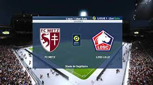 Metz vs Lille - Ligue 1 (10th April 2021) - PES 2021 - YouTube