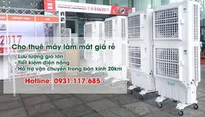 CHO THUÊ MÁY LÀM MÁT, QUẠT HƠI NƯỚC CÔNG SUẤT LỚN- GIÁ RẺ - Nghenang.com.vn