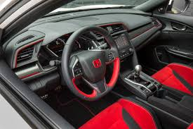 2018 honda type r interior. contemporary honda 2018 civic type r hondau0027s most powerful car charges into the new model year for honda type r interior