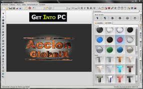 aurora 3d text logo maker free