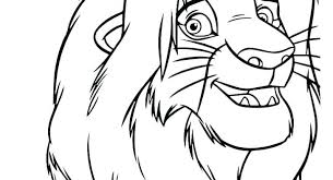 Coloring Pages Lion King Coloring Pages Printable Color Free