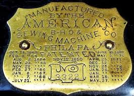 Antique American Sewing Machine Company