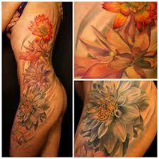 Krásné Kytky Tetování Flowers Tattoo Galerie Tetováníblogcz