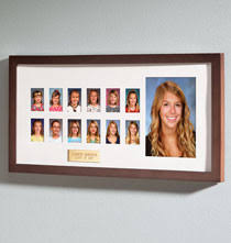 Image Phot Personalized Walnut School Years Frame Amazoncom Unique Personalized Frames For Everyday And Holidays