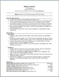 Example Of Functional Resumes Functional Resume The Working Centre