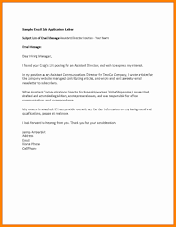 Job Inquiry Email Template Simple Depiction Cover Letter Attached
