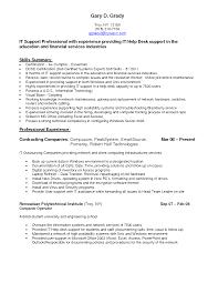 Resume Computer Support Technician Resume
