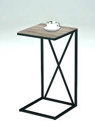 ikea metal and glass side table metal bedside table metal bedside table furniture metal glass bedside