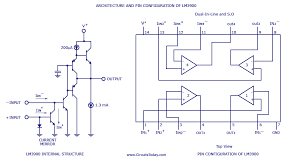 muti channel audio mixer circuit based on lm3900 ic four channels Audio Mixer Circuit Diagram lm3900 pin configuration