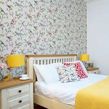 Pretty Wallpaper For Bedrooms Pretty Bedroom With Bird Theme Wallpaper