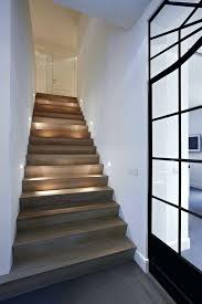 led stair lighting fixtures round louvered deck step contemporary and