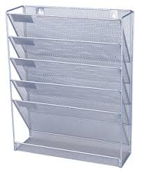 Image Is Loading Office-Files-Organizer-Magazine-Storage-Rack-Wall-Mounted-  EBay a