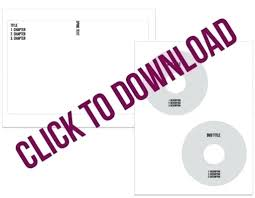 Blank Cd Cover Cd Case Cover Template Photoshop Buildbreaklearn Co