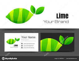 Lime Creative Design Lime Corporate Logo And Business Card Sign Template