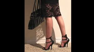 Mature well dressed high heels
