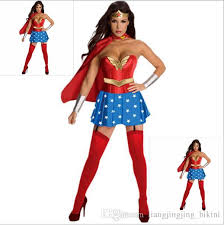 Lovely Halloween Costumes For Women Wonder Woman Costume Adult Sexy Dress Cartoon Character  Costumes Clothing Halloween Costumes YYA151 Halloween Costume For 6 ...