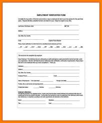 Employee Verification Form.sample Employment Verification Form New ...