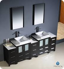 modern double sink bathroom vanities. 84\ Modern Double Sink Bathroom Vanities D
