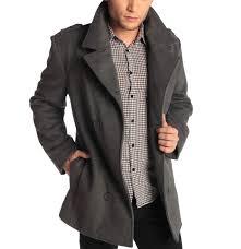 the impressive mens pea coat