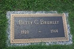 Betty Clopton Brumley (1920-1964) - Find A Grave Memorial