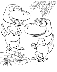 Dinosaur Train Coloring Pages Dinosaurs Pictures