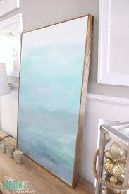 how to frame a canvas for