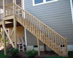 deck stairs pictures. Perfect Pictures Stair Guard Posts Should Be Located So That The Span Between As  Measured Horizontally On Deck Stairs Pictures