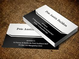 business business card design for a pany in new zealand design 8490819