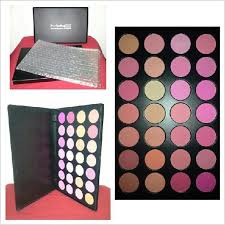mac m a c pro 28 colors blush makeup kit palette
