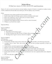 Sample Medical Administrative Assistant Resumes Resume For A Job Of