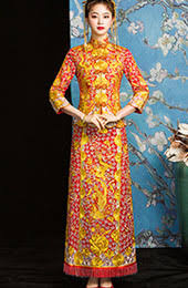 <b>2019 Cheongsam</b>, <b>Qipao</b> | Traditional Qun Kwa Dress ...