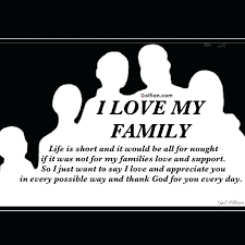 Beautiful Short Quotes On Family Best Of I Love My Family Quotes Plus Family Love Quotes Images Mesmerizing