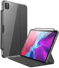 Apple smart keyboard folio für ipad pro 11 und ipad air 2020. Amazon Com I Blason Halo Series Case For New Ipad Pro 12 9 Inch 2020 2018 Release Only For Use With Smart Keyboard Folio Compatible With Official Smart Folio Clear Protective Case With Pencil Holder Black