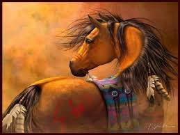 native american horse wallpaper. Free Native American Horse Painting Wallpaper Download The Screensavers Wallpapers Intended