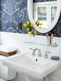 Bathroom Design Tips And Ideas Extraordinary Decorating A Small Bath Better Homes Gardens