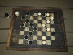 Old Wooden Game Boards colonial decor with lemons HandcraftedPrimitive Game Boards 25