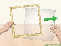 image titled make a mirror step 1