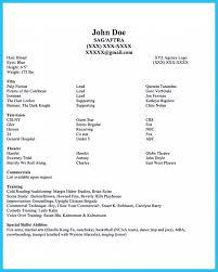dance resume format resume acting york actors resume samples resume template beginner acting resume sample