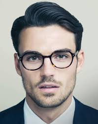 Mens Hairstyles With Glasses Vivekpaul After Looking At This Picture Of Peter Badenhop For