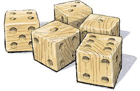 giant yard dice