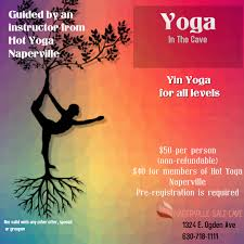 yin yoga at naperville salt cave