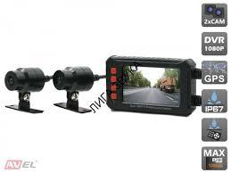 <b>Двухканальный видеорегистратор</b> для мотоцикла / квадроцикла ...
