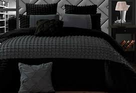 Cossette Stone Quilt Cover Set – Charcoal Grey Grid Pattern ... & Cossette Stone Grey Quilt Cover Set in King / Queen Size Adamdwight.com