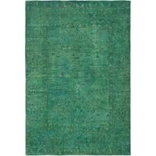 teal wool rug hand knotted color transition teal wool rug teal wool rug uk